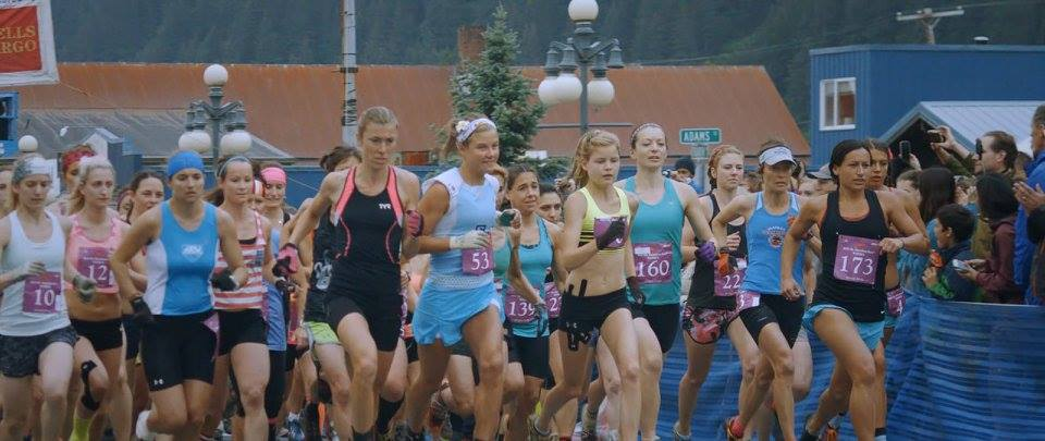 Mount Marathon Race in Seward, Alaska