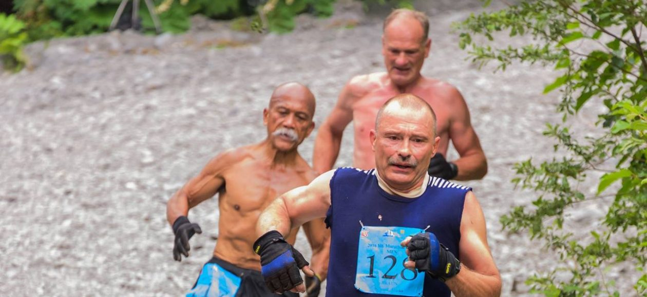 Mount Marathon Race in Seward, Alaska